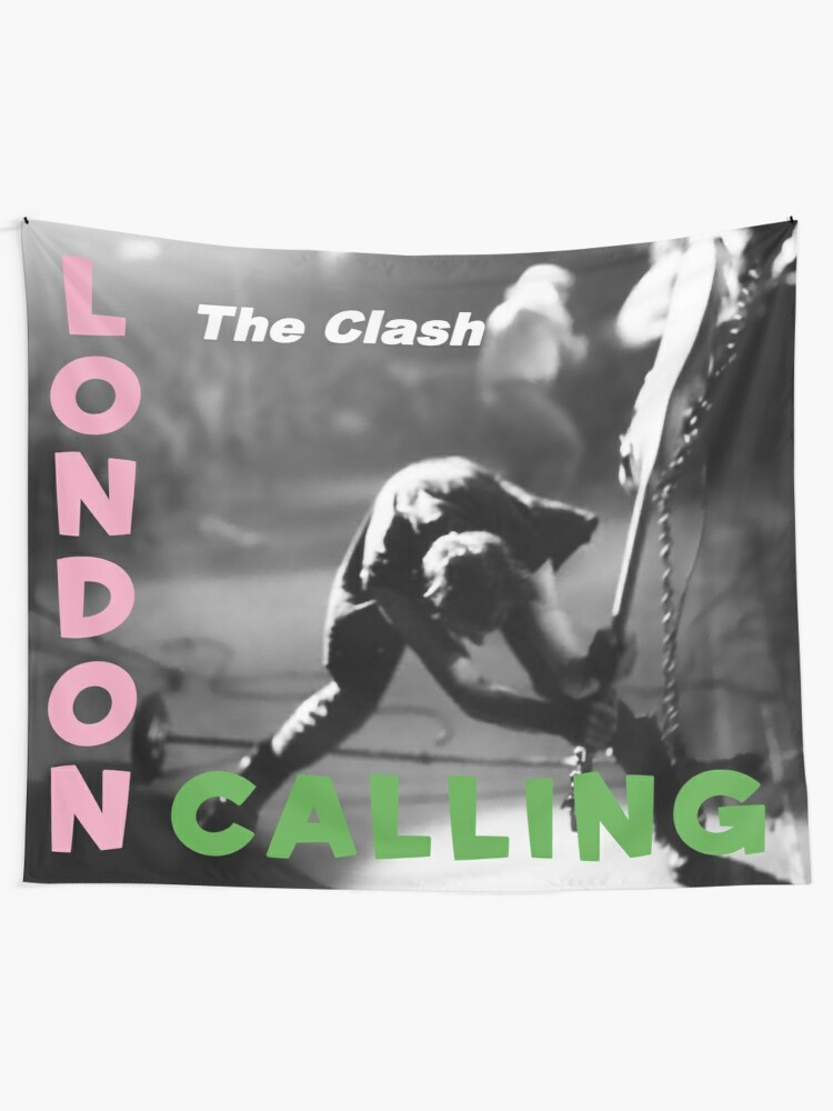 London Calling Tapestry By Music Box Redbubble