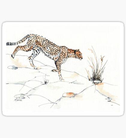 Majestic Cheetah Sticker