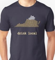 Drink Local - Virginia Beer Shirt Unisex T-Shirt