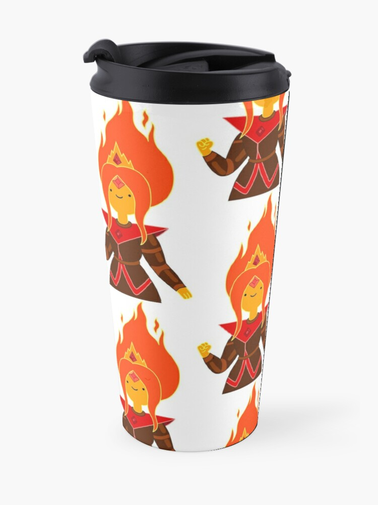 Alternate view of Flame Princess Travel Mug