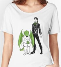 The Girl With the Dragon Tattoo Women's Relaxed Fit T-Shirt