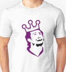 Doughty Face TeeShirt - purple screen T-Shirt