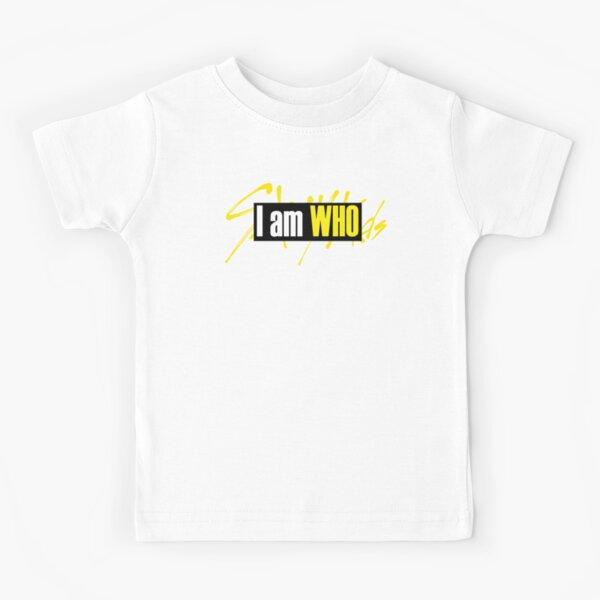 LOGO OFFICIEL KPOP STRAY KIDS JE SUIS QUI T-shirt enfant