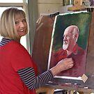 'Smithy' - Work in Progress by Lynda Robinson