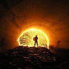 The Golden Hole by JAZ art