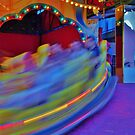 in a spin by Len  Gunther