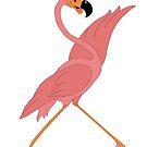 Pretty Flamingo by redqueenself
