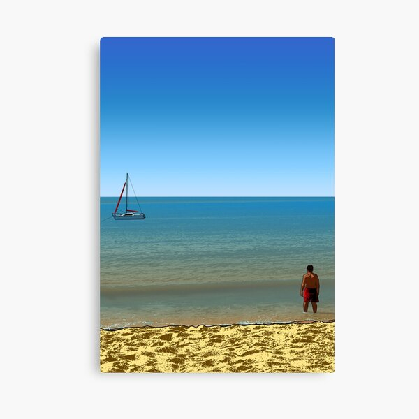 The Man and the Sea Nº 2 Canvas Print