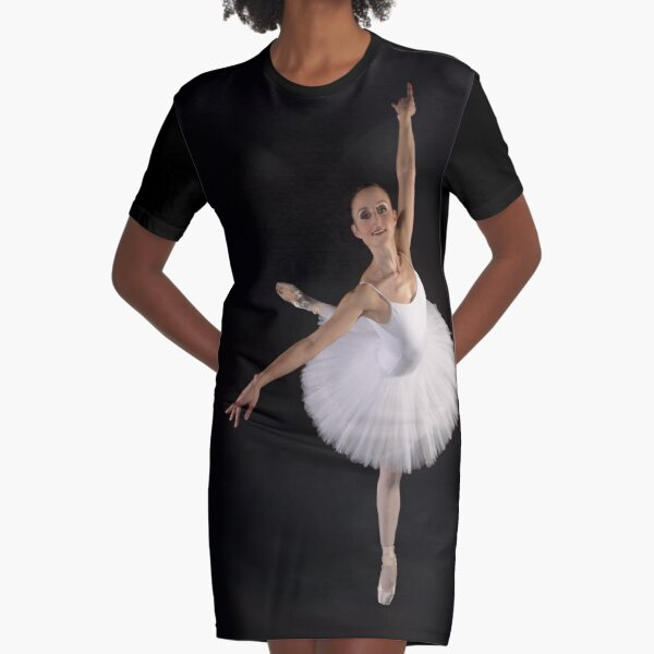 Ballerina solo Graphic T-Shirt Dress