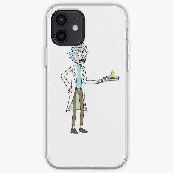 Oh Geez Rick Slim Fit T-Shirt iPhone Soft Case