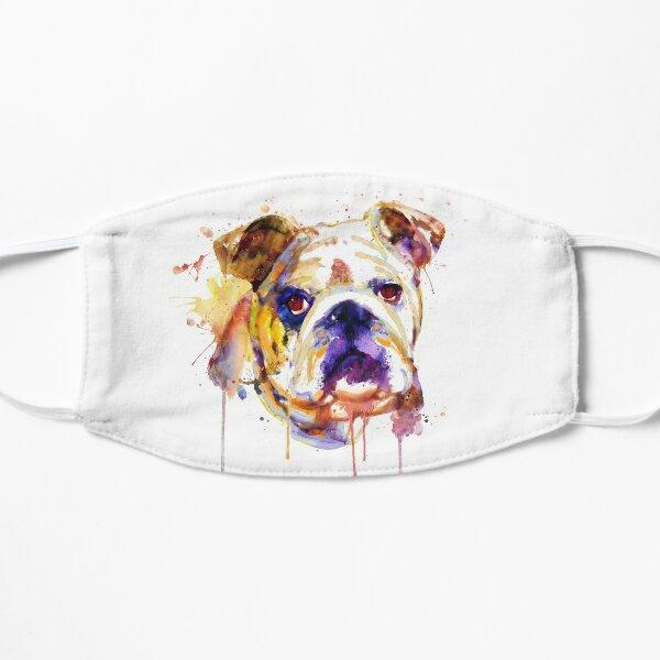 English Bulldog Head Flat Mask