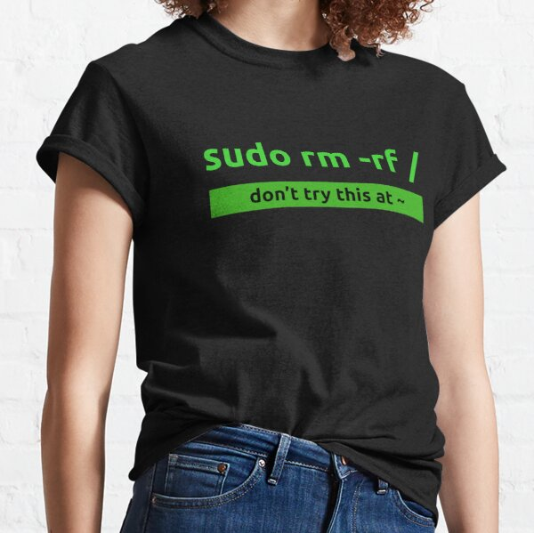 Sudo Linux Programming Command Classic T-Shirt