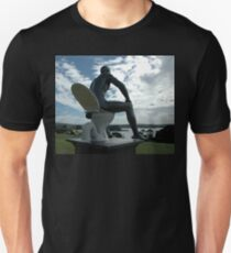 Toilet Man Sculpture,Bermagui,Australia 2015 Unisex T-Shirt