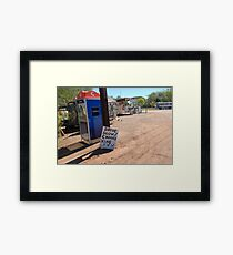 Outback Humour Framed Print