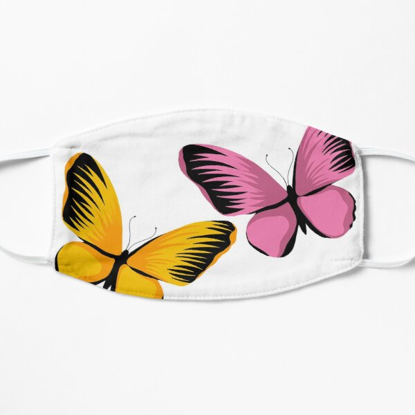 bloom daily planners butterflies Mask