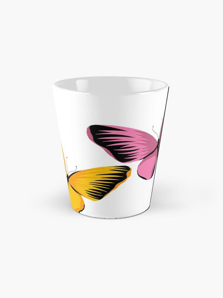 Alternate view of bloom daily planners butterflies Mug