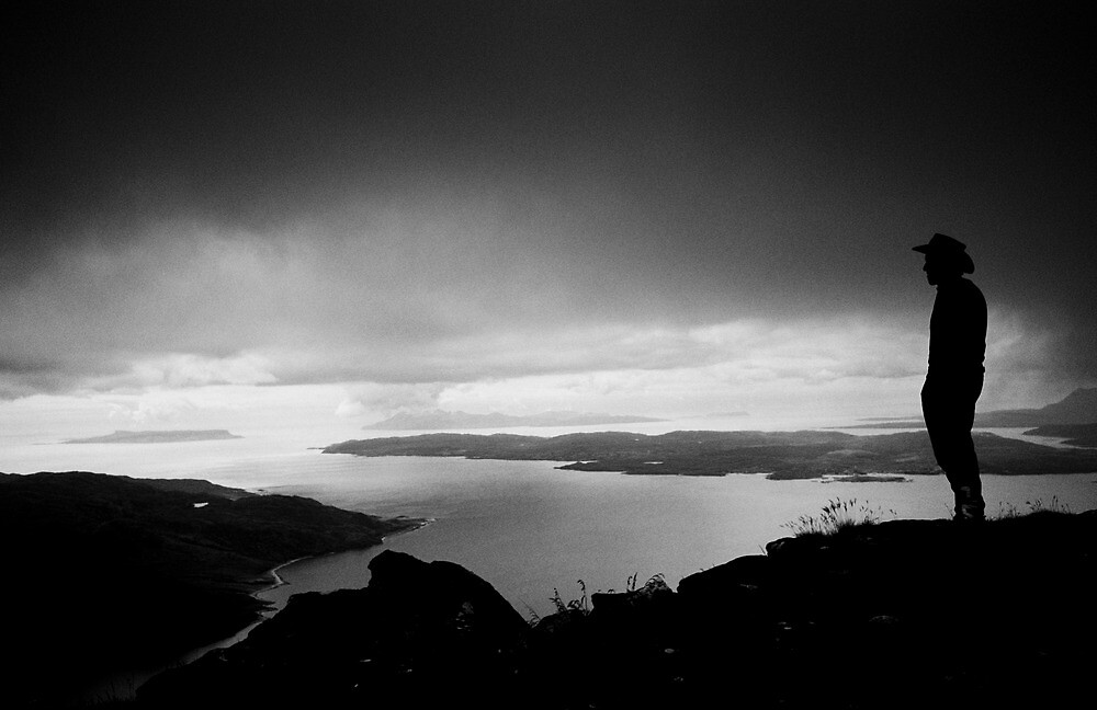 View from Beinn Sgritheall, Kintail, West Highlands, Scotland by Iain MacLean