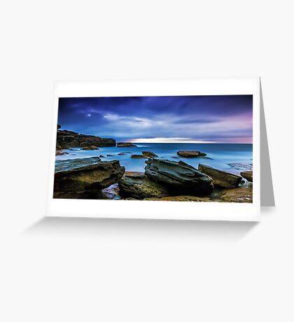 Oceans' Blues Greeting Card