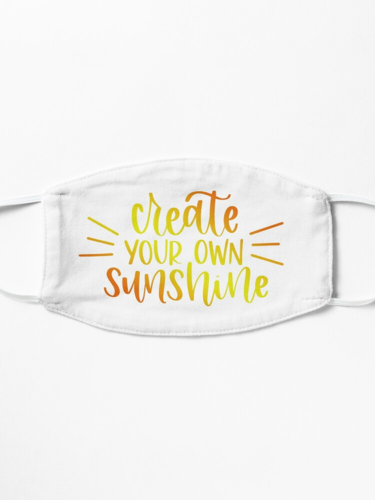 Alternate view of bloom daily planners - create your own sunshine Mask
