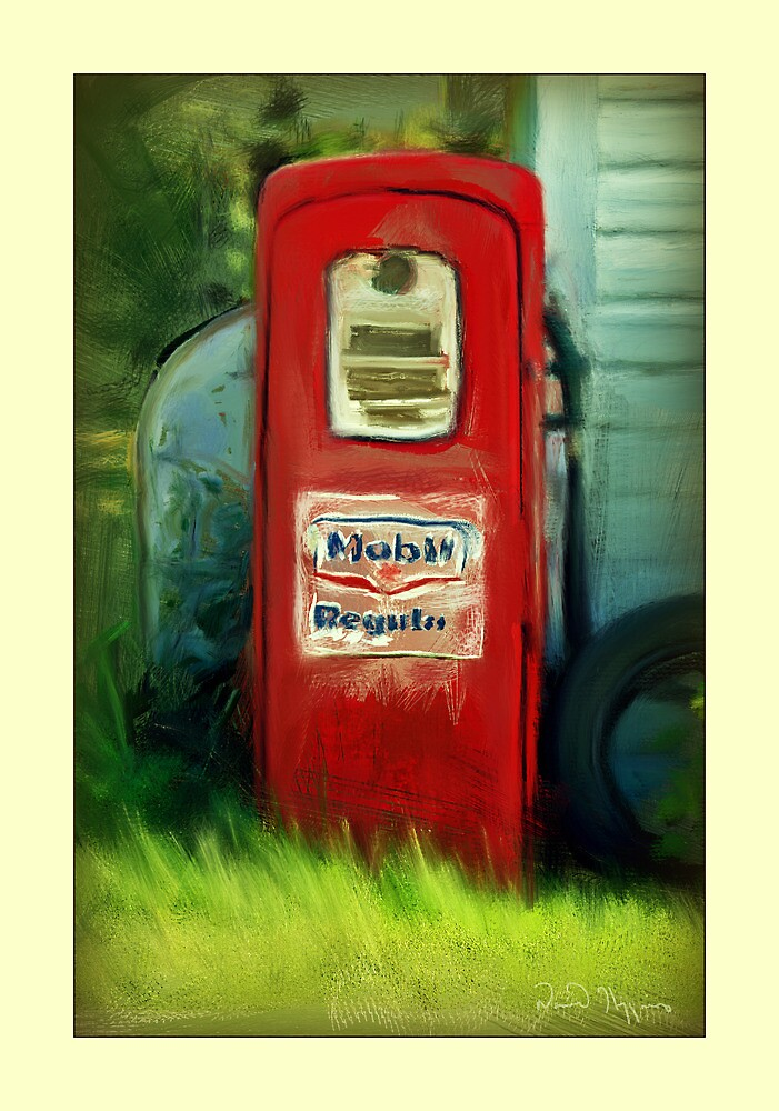 Old pump by Dave  Higgins