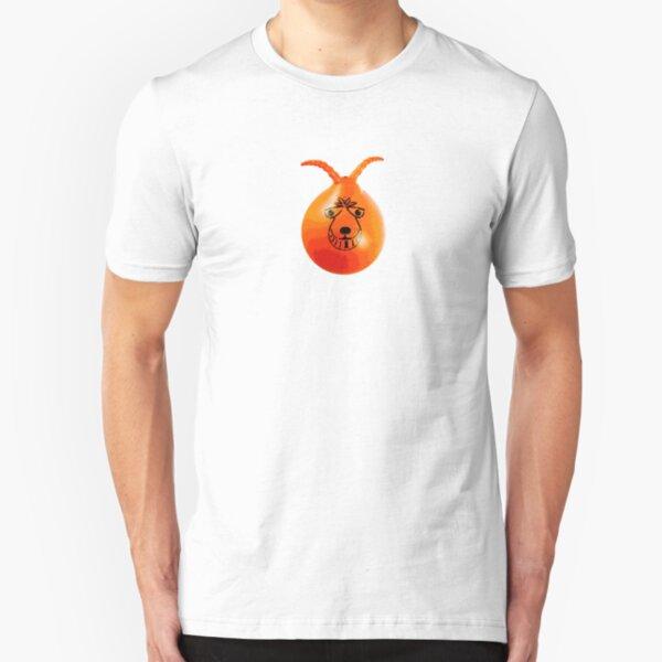Retro 8-bit Space Hopper Slim Fit T-Shirt