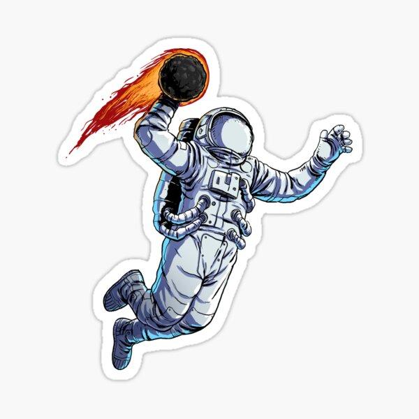 Space Dunk Sticker