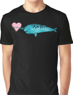 Narwhal Love Graphic T-Shirt