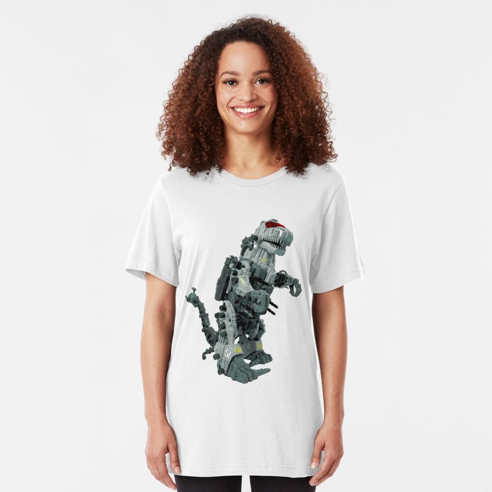 Zoidzilla 8-bit style Slim Fit T-Shirt