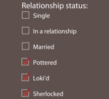 Pottered, Loki'd, Sherlocked