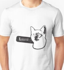 Imagine yourself with a cat for a dad T-Shirt