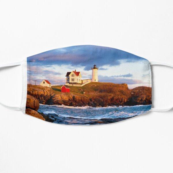 The Nubble Lighthouse, York, Maine - 2 Flat Mask