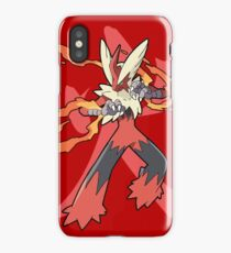 Blaziken With Fire Kanji iPhone Case
