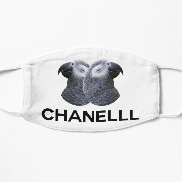 Chanel parrot meme Flat Mask