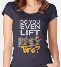 Do You Even Lift Bro - Pokemon - Conkeldurr Family Women's Fitted Scoop T-Shirt