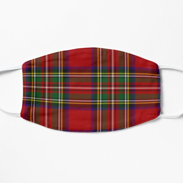 Scottish patern Flat Mask