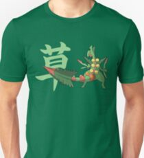 Sceptile With Grass Kanji T-Shirt