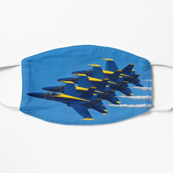 Blue Angels Flat Mask