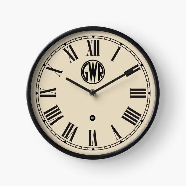 Horloge ferroviaire GWR Horloge