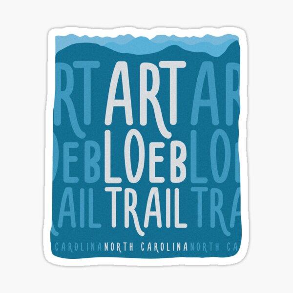Art Loeb Trail - North Carolina, USA Sticker