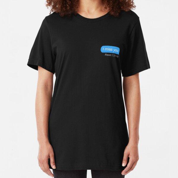 imessage  Slim Fit T-Shirt
