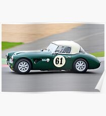 Austin Healey 3000 No 61 Poster