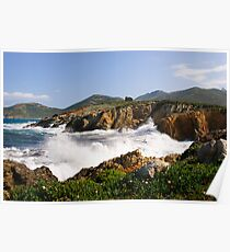 Galeria,  a windy day Poster