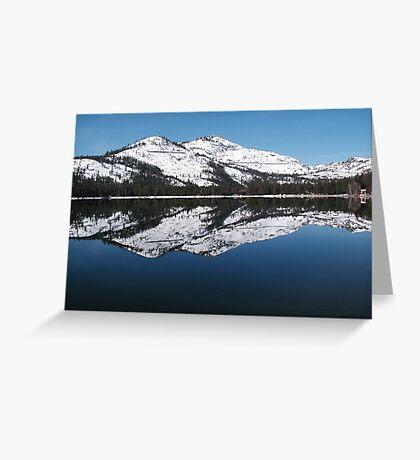 Donner Lake Morning Greeting Card