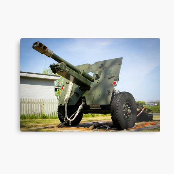 Ordnance QF 25 pounder Metal Print
