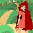 Little Red Riding Hood by Lauren Draghetti