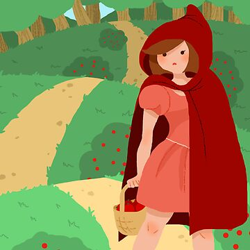 Little Red Riding Hood by laurendraghetti