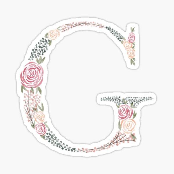 G initial Sticker