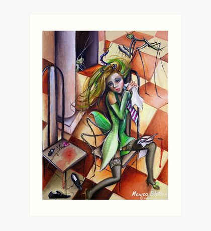 Mantis Religiosa Art Print