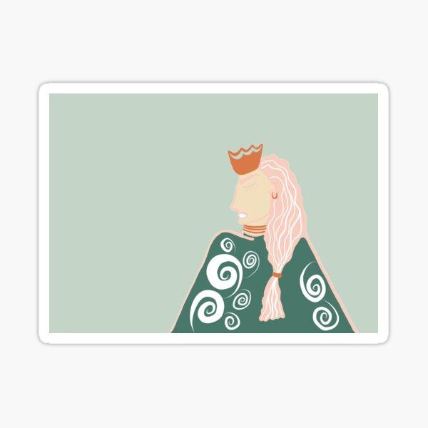 The Badass Queen Sticker