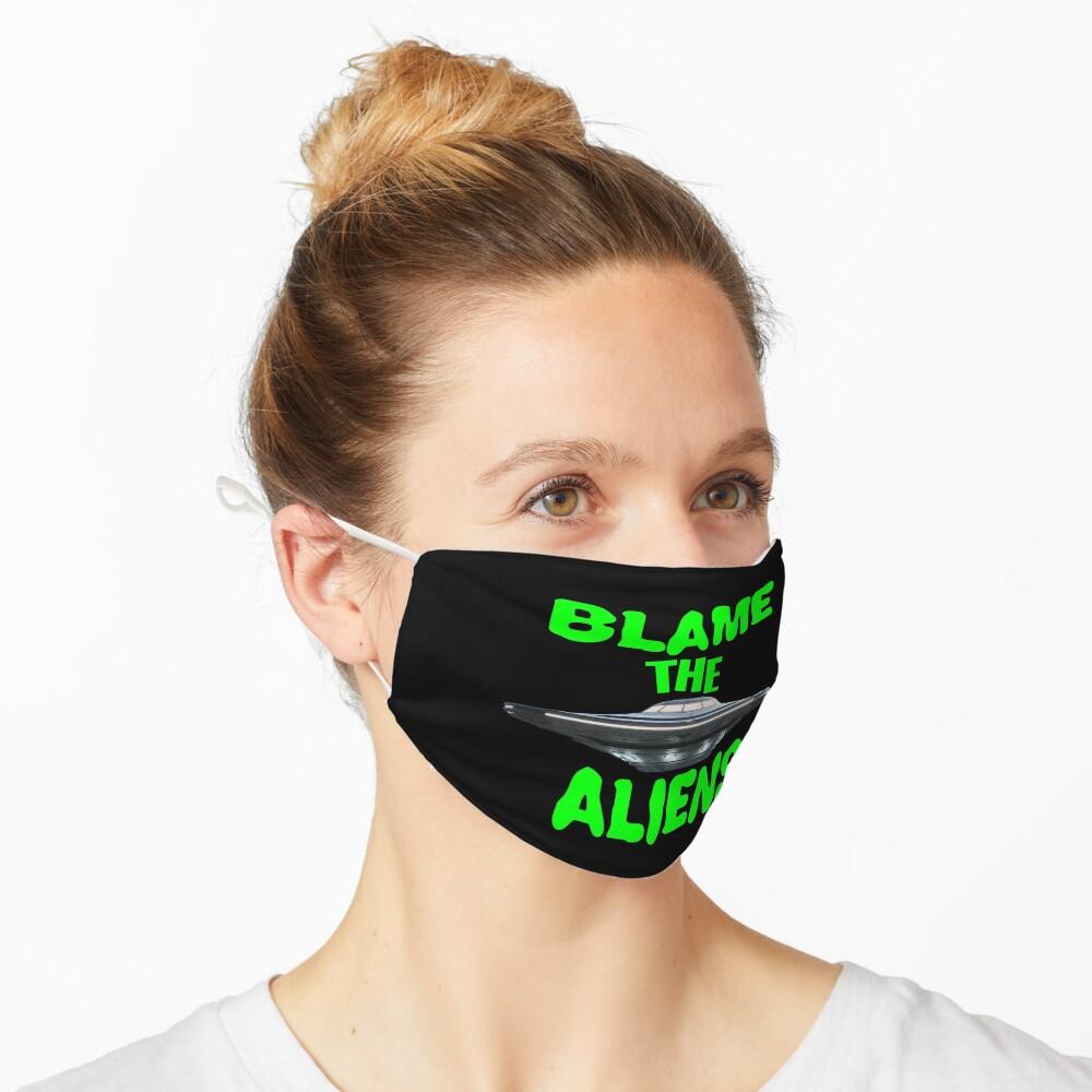 Blame The Aliens Design  Mask